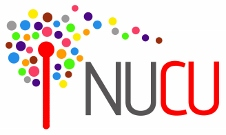 NUCU abbreviated logo (colour) on white