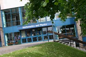 Maths & Physics building